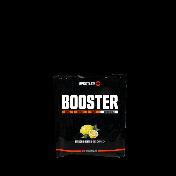 Booster Zitrone-Eistee Probierportion
