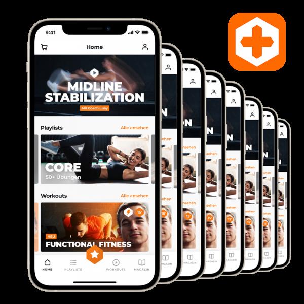 Sportler+ App-Premium-Pakete für Firmen, Vereine & Gruppen