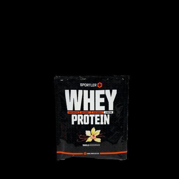 Whey Protein Vanille Probierportion